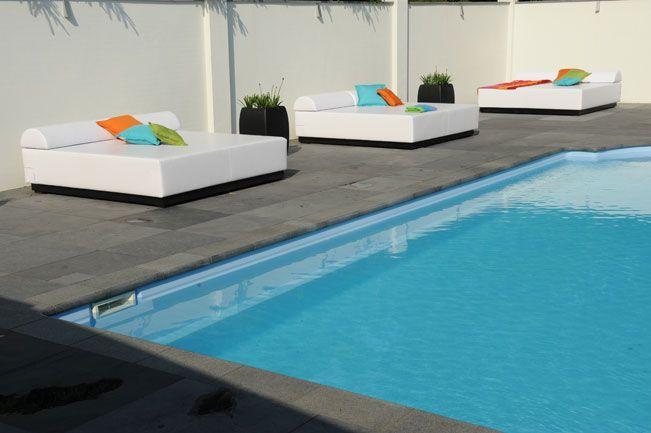 Tweepersoons luxe loungebedden
