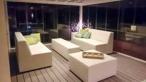 Lounge-set in serre