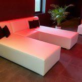 Loungebanken wellness en sauna