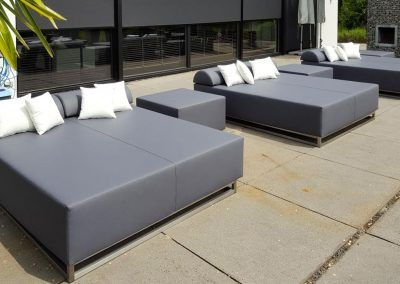 Loungebeddenserie outdoor