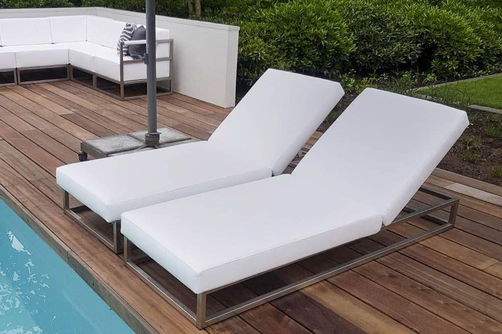 Verstelbare loungebedden